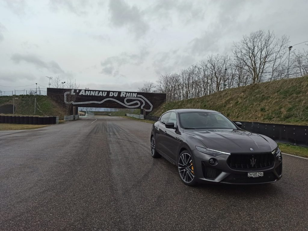 Test Maserati Levante Trofeo