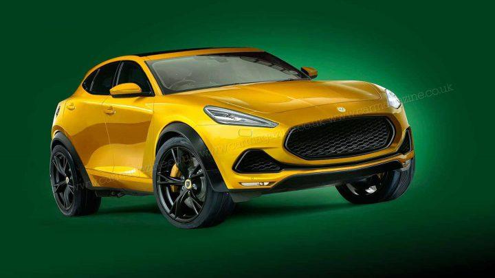 Lotus Lambda will mit dem Porsche Cayenne oder dem BMW X6 konkurrieren.