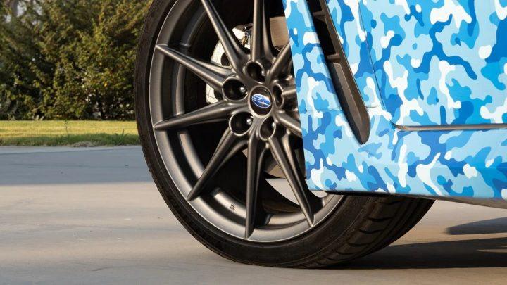 Subaru zeigte offiziell das erste Foto des BRZ-Modells.