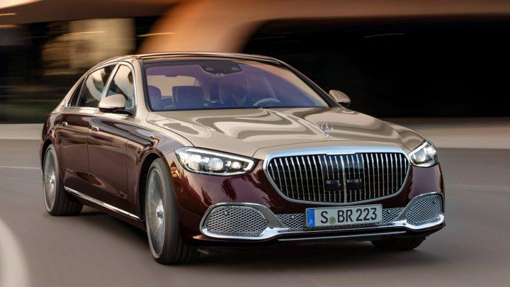 Der Höhepunkt des Luxus auf Deutsch oder so ist die neue Mercedes-Maybach S-Klasse.