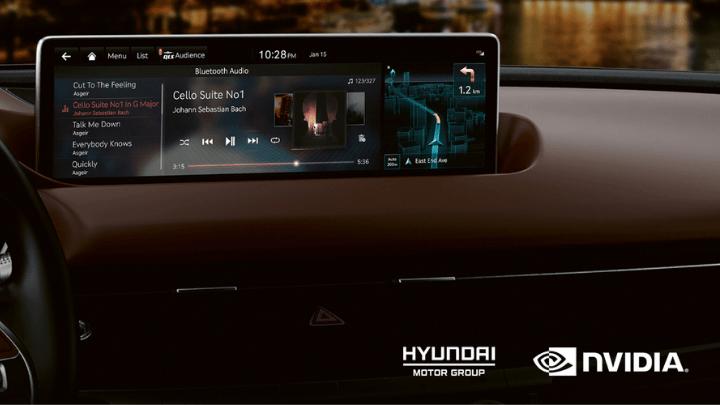 Die neuen Hyundai- und Kia-Fahrzeuge erhalten das NVIDIA Drive-Informationssystem.