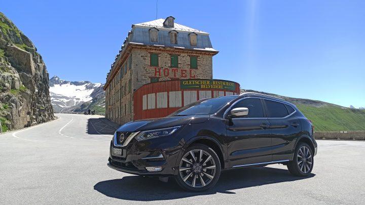 Alpen tour mit Nissan Qashqai