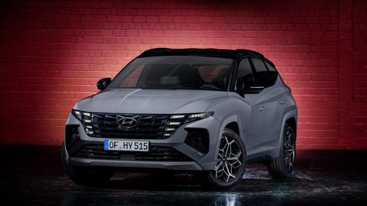 Hyundai hat die Tucson N-Line vorgestellt, die ein elektronisches ECS-Chassis erhalten wird.