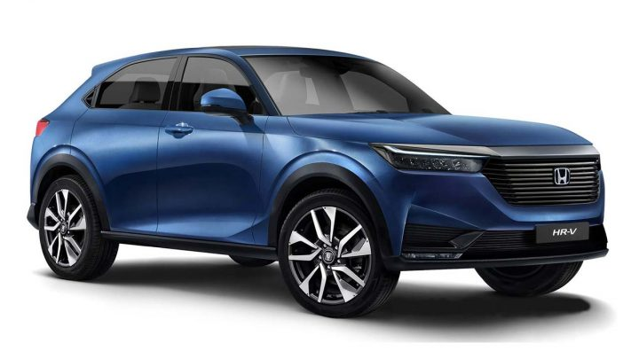 Der neue Honda HR-V wurde in Patentbildern enthüllt.