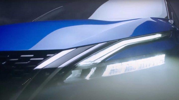 Nissan stellte den neuen Qashqai leicht vor.