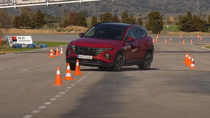 Wie schnell hat der Hyundai Tucson Elchtest bestanden?