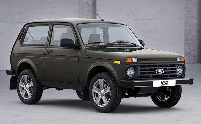 Der Brexit bringt Lada Niva Legend auf den britischen Markt.