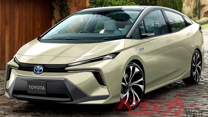 So kann der neue Toyota Prius aussehen.  Was wird es bieten?