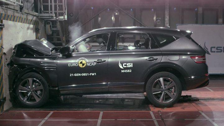 Die Genesis G80 und GV80 haben den EuroNCAP-Crashtest bestanden