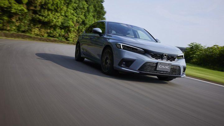 Honda stellte die elfte Generation des Civic Schrägheck vor.