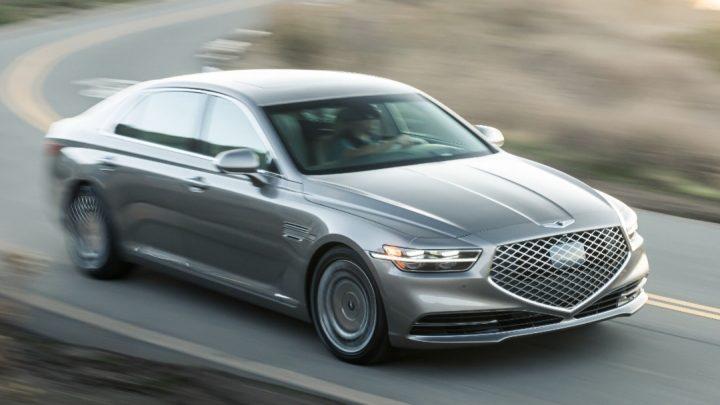Hyundai verlässt den V8-Motor.  Er wird durch einen Sechszylinder ersetzt.