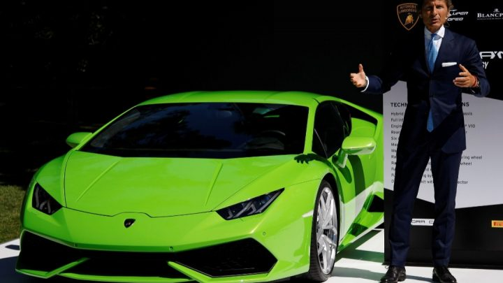 Die Nachfrage nach Lamborghini-Fahrzeugen ist groß.