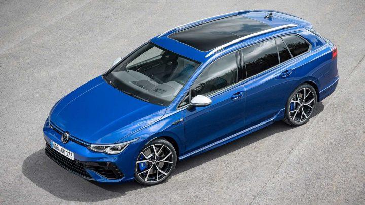 Der neue Volkswagen Golf R Variant ist leistungsstark, praktisch und kann einen Anhänger bis 1,9 Tonnen ziehen.
