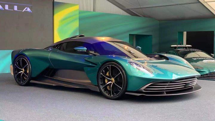 Aston Martin Valhalla ist der erste Plug-in-Hybrid des britischen Autobauers.