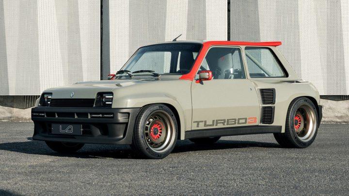 Dieser Renault 5 Turbo 3 hat eine brutale Leistung von 400 PS und Hinterradantrieb.