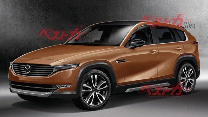 Der neue Mazda CX-5 bekommt einen längs eingebauten Sechszylinder.