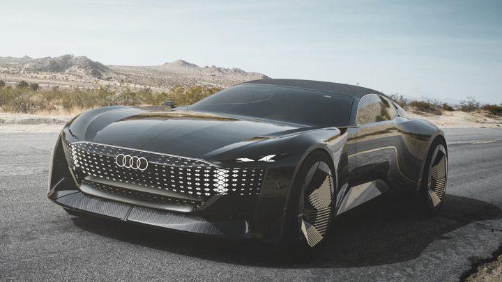 Die Audi Skysphere zeigt die Designrichtung neuer Audi-Fahrzeuge.