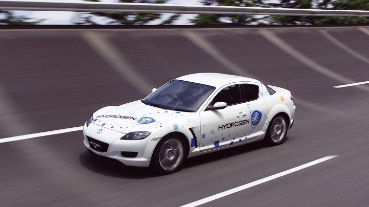 Der Wankelmotor von Mazda soll Wasserstoff verbrennen.