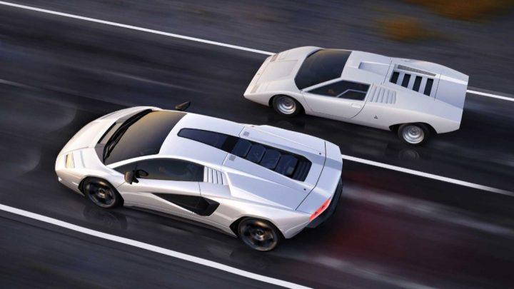 Dies ist ein Lamborghini Countach der zweiten Generation.  Es werden nur 112 Stück produziert.