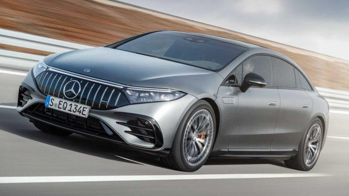 Der Mercedes-AMG EQS 53 4Matic+ ist der erste elektrische AMG. Das Design interessiert ihn jedoch nicht.