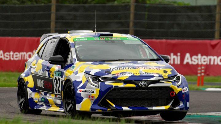 Beim 24-Stunden-Rennen nahm der Toyota Corolla Sport mit Wasserstoffverbrennung teil.