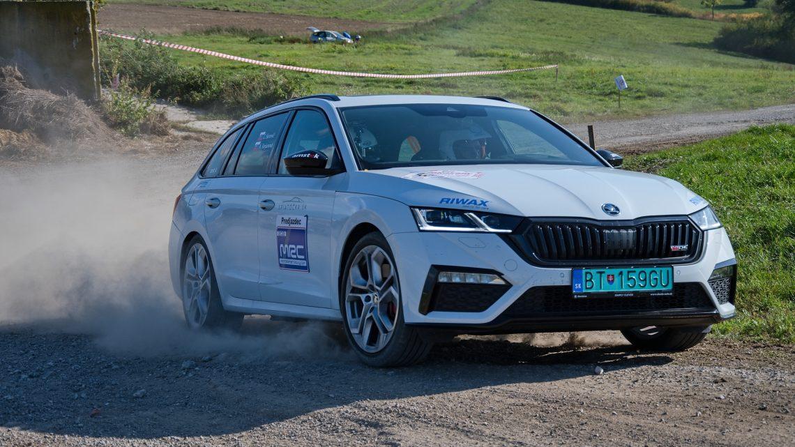 Rallye-Test |  Wie fährt der Škoda Octavia RS iV bei der Rallye?  |