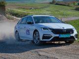Rallye-Test    Wie fährt der Škoda Octavia RS iV bei der Rallye?   