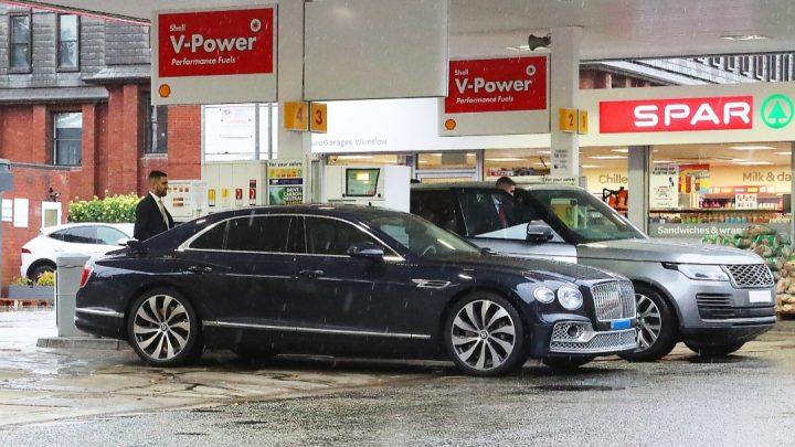 Auch die Fahrzeuge von Christian Ronald waren von der britischen Kraftstoffkrise betroffen.